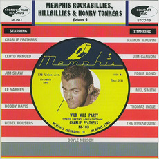 Memphis Rockabillies, Hillbillies & Honky Tonkers, Volume 4 by Various Artists