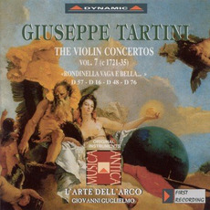 Giuseppe Tartini: The Violin Concertos, Vol.7 by Giuseppe Tartini