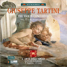 Giuseppe Tartini: The Violin Concertos, Vol.15 by Giuseppe Tartini