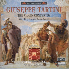 Giuseppe Tartini: The Violin Concertos, Vol.12 by Giuseppe Tartini