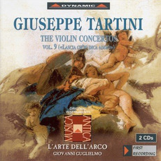Giuseppe Tartini: The Violin Concertos, Vol.9 by Giuseppe Tartini