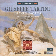 Giuseppe Tartini: The Violin Concertos, Vol.13 mp3 Artist Compilation by Giuseppe Tartini