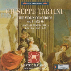 Giuseppe Tartini: The Violin Concertos, Vol.4 by Giuseppe Tartini