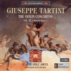 Giuseppe Tartini: The Violin Concertos, Vol.11 by Giuseppe Tartini
