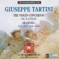 Giuseppe Tartini: The Violin Concertos, Vol.3 by Giuseppe Tartini