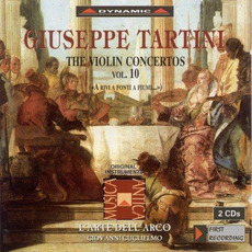 Giuseppe Tartini: The Violin Concertos, Vol.10 by Giuseppe Tartini