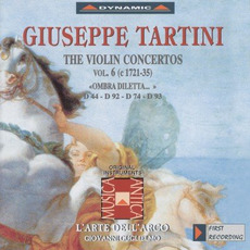 Giuseppe Tartini: The Violin Concertos, Vol.6 by Giuseppe Tartini