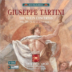 Giuseppe Tartini: The Violin Concertos, Vol.14 by Giuseppe Tartini