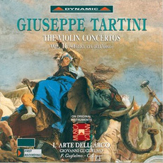 Giuseppe Tartini: The Violin Concertos, Vol.16 by Giuseppe Tartini