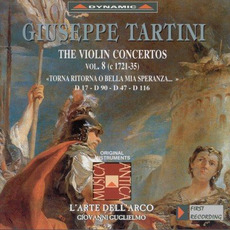 Giuseppe Tartini: The Violin Concertos, Vol.8 by Giuseppe Tartini