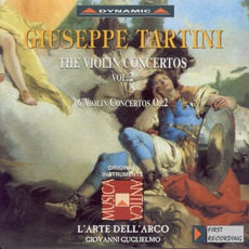 Giuseppe Tartini: The Violin Concertos, Vol.2 by Giuseppe Tartini
