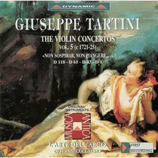 Giuseppe Tartini: The Violin Concertos, Vol.5 by Giuseppe Tartini