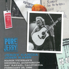 Pure Jerry: Marin Veteran's Memorial Auditorium, San Rafael, California (Pure Jerry #8) by Jerry Garcia and John Kahn