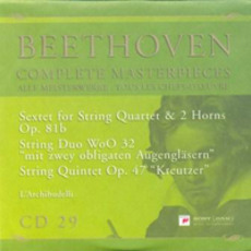 Complete Masterpieces, CD29 mp3 Artist Compilation by Ludwig Van Beethoven
