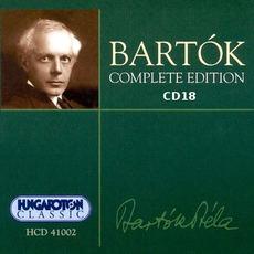 Bartók Complete Edition, CD18 mp3 Artist Compilation by Béla Bartók