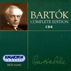 Bartók Complete Edition, CD4 by Béla Bartók