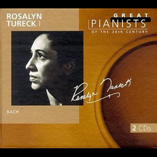 Great Pianists of the 20th Century, Volume 93: Rosalyn Tureck mp3 Artist Compilation by Johann Sebastian Bach
