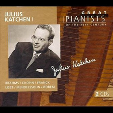 Great Pianists of the 20th Century, Volume 53: Julius Katchen I by Various Artists