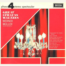 Great Strauss Waltzes mp3 Album by Werner Müller And His Orchestra