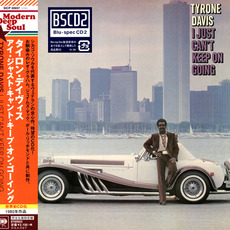 I Just Can't Keep On Going (Japanese Edition) mp3 Album by Tyrone Davis