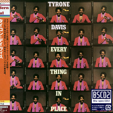Everything In Place (Japanese Edition) mp3 Album by Tyrone Davis