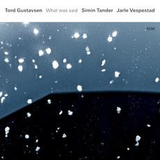 What Was Said mp3 Album by Tord Gustavsen, Simin Tander, Jarle Vespestad