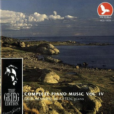 The Grieg Edition: Complete Piano Music, Volume IV by Edvard Grieg