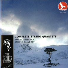 The Grieg Edition: Complete String Quartets by Edvard Grieg