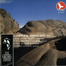 The Grieg Edition: Complete Songs, Volume VI by Edvard Grieg