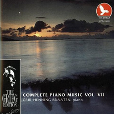 The Grieg Edition: Complete Piano Music, Volume VII by Edvard Grieg