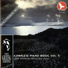 The Grieg Edition: Complete Piano Music, Volume X by Edvard Grieg