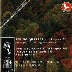 The Grieg Edition: Music for Strings by Edvard Grieg