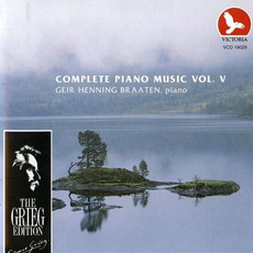 The Grieg Edition: Complete Piano Music, Volume V by Edvard Grieg