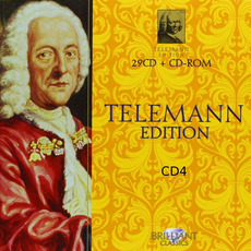 Telemann Edition, CD4 mp3 Artist Compilation by Georg Philipp Telemann
