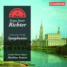 Contemporaries of Mozart, Volume 2: Franz Xaver Richter: Symphonies mp3 Artist Compilation by Wolfgang Amadeus Mozart