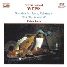 Sonatas for Lute, Volume 4 by Sylvius Leopold Weiss