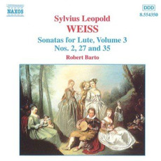 Sonatas for Lute, Volume 3 by Sylvius Leopold Weiss