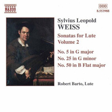 Sonatas for Lute, Volume 2 by Sylvius Leopold Weiss