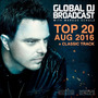 Global DJ Broadcast: Top 20 - August 2016