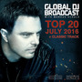 Global DJ Broadcast: Top 20 - July 2016
