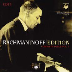 Rachmaninoff Edition, CD17 mp3 Artist Compilation by Sergei Rachmaninoff