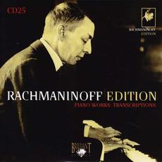 Rachmaninoff Edition, CD25 mp3 Artist Compilation by Sergei Rachmaninoff