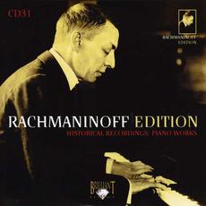 Rachmaninoff Edition, CD31 mp3 Artist Compilation by Sergei Rachmaninoff