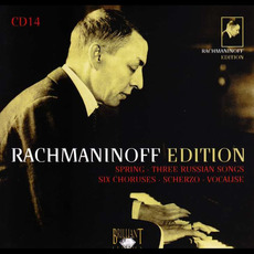 Rachmaninoff Edition, CD14 mp3 Artist Compilation by Sergei Rachmaninoff