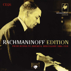 Rachmaninoff Edition, CD26 mp3 Artist Compilation by Sergei Rachmaninoff
