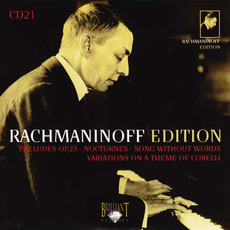 Rachmaninoff Edition, CD21 mp3 Artist Compilation by Sergei Rachmaninoff