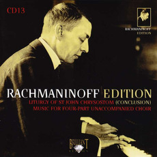 Rachmaninoff Edition, CD13 mp3 Artist Compilation by Sergei Rachmaninoff