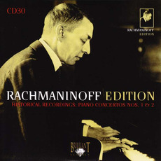 Rachmaninoff Edition, CD30 mp3 Artist Compilation by Sergei Rachmaninoff