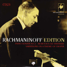 Rachmaninoff Edition, CD23 mp3 Artist Compilation by Sergei Rachmaninoff