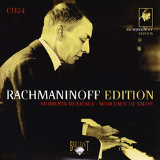 Rachmaninoff Edition, CD24 mp3 Artist Compilation by Sergei Rachmaninoff